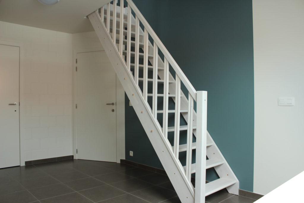 Wilgenstraat 45 - Kamer 21 - Deur kamer, deur badkamer en trap
