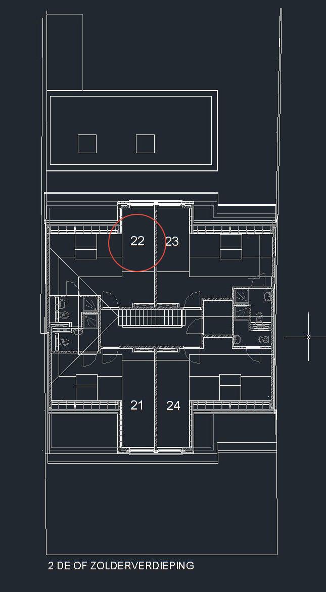 Sint-Jozefsstraat 30 - Kamer 22 - Grondplan
