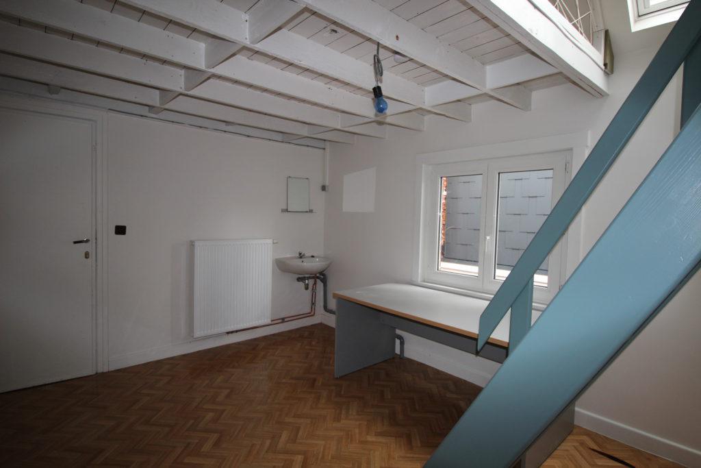 Wilgenstraat 49- bureau en trap